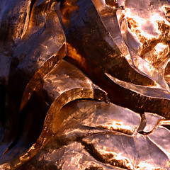 The Gold Curves of the MGM Lion (Andrew Morrell Photography) Tags: mgm gold lion gaudy ritzy loud shiny metal abstract vegas baby wow 15fav 510fav top20macroinanimate