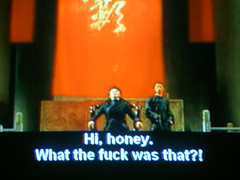 Hi honey. (MFinChina) Tags: television movie tv pirate bootleg subtitles framecatch tomyumgoong badsubtitles