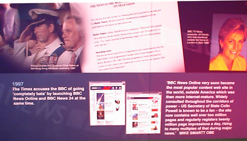 1997 - the BBC launches News Online and News 24 by currybet