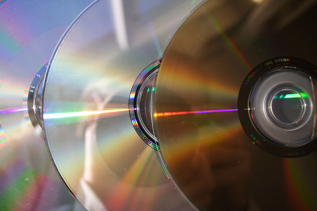 Spectrum in optical discs