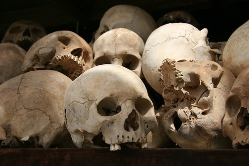 Skulls at Chueng Ek