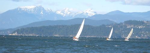 sail day, Vancouver, BC