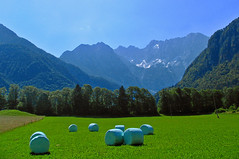 Jezersko (majamarko) Tags: travel mountains wow colorful europe most slovenia valley rolls hay slovenija top20landscape f56 canons1 jezersko 1320 majamarko 38mm35mmequiv