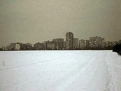 Gropiusstadt in der Dmmerung (Schockwellenreiter) Tags: neuklln gropiusstadt umland photogabi winter schnee