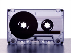 Sounds from the past (Rune T) Tags: cassette music transparent blue white circle magnetic mc macro detail retro sony tape analogue topv111 wow topvblog topf25 topv333