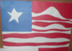 6th Grade Student's American Flag (vagabondrhythm) Tags: flag student 6thgrade gifted talented political bush american america art youth fear voicesofopposition socialcapital freespeech freedomofspeech firstamendmentright personalexpression politicalexpression criticalart publicopinion publicdiscontent bushadministration elementaryschool voiceofyouth sentiment school magnetschool debate leftist rightist controversy patriotism unpatriotic angst indoctrination propaganda education media dogma opposingviews criticalthinking politicalpuppets hate nationalsecurity jew terrorists europeanopinion americanopinion currentaffairs bushbashing disaffected disaffectedyouth jaded jadedyouth ignorance politicalmisunderstandings internationalmisunderstanding internationaldebate damagedinternationalrelations alquaida iraq nuclearweapons antiwestfeeling antiwestsentimentiment antiamerican warped nationalintegrity unilateralpolitics superpower hotdebate bushhating politicalindoctination apathy apathetic apatheticyouth nohope rhetoric politicalrhetoric liberalrhetoric leftistrhetoric warpedflag warpedpatriotism impressionisticyouth 12yearolds teacherinfluence teachervsparentalinfluence teachervsmediainfluence teachervssocietalinfluence inappropriateassignment inappropriateteaching unpatriotictraitors culturalviewpoints nationalviewpoints politicalpointsofview disappointment talkacrossborders communicatingacrossborders internationalcommunication anthropological sociological observingyouth observingopinionsofyouth observingpublicopinion opinionofnoamchomsky divergingviews divergingnation diverginginterests divergingpolitics diverginginternationalviewpoints teaching homework assignment generalizationsindebate politicalagony politicalrage politicalaffairs blamingamerica politicalblame politicalconfusion politicalfoolery usforeignpolicy historyofusforeignpolicy usforeignpolicydebate schools discussion politicaldiscussion muslimagenda terroristsympathiser terroristapologist emotionallycharged emotionallychargedlabels teachingcriticalthinking teachingfreedomofspeech teachingpolitcalexpression politicalexpressioninschool allowingpoliticalexpressioninschool cultivatingpoliticalexpressioninyouth cultivatingpoliticalexpressioninclass cultivatingpoliticalexpressioninschool cultivatingpoliticalopinion cultivatinghate closedopinions arabhatingcrusaders ushatingcrusaders bushhatingcrusaders americahatingcrusaders antipatrioticcrusaders rightisthatingcrusaders leftisthatingcrusaders politicalnamecalling politicallabels fanatics liberalfanatics conservativefanatics unitedstates unitedstatesofamerica us usa divergingpoliticalviewpoints classicdistractiontacticsindebate sensiblearguments moonbat holocaustdenier antiamericancrusader antiliberalcrusader combatingignorance openingdebate leftistrightistdebate americaneuropeandebate namecalling aggravatingdebate debatethatneedstoberead debatethatneedstobeseen painstakingdebate radicals valuingmoderatepoliticalopinions maturevsimmaturepoliticalopinion moderateandmaturepoliticalopinion blackandwhiteviews seeingthingsinblackandwhite politicalarguments arguing argument classicpoliticalarguments currentpoliticalarguments idiotarian politicalideology irrationalideology irrationalpoliticalviews irrationalviews geopolitics partisan partisanpolitics partisandebate americansarguing politicalthought tediousdebate makingsenseofpoliticalviews understandingpartisanpolitics spaceforopendebate realsocialcapital observingsocialcapital socialcapitalatwork micropolitics americanflag patriot americanpatriot whatdoesmyflagstandforanyway takeourflagback oldglory appropriateageforpoliticalexpression appropriatenessofpoliticalexpressioninschools antiwar antibush