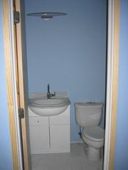 CQs bathroom (femme_makita) Tags: blue house bathroom remodel cqw