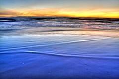 Wide shoreline (ojaipatrick) Tags: sunset color reflection beach topf25 water topv111 landscape ilovenature photography topv333 waves tide topc50 shore dri hdr ventura photomatix topphotblog