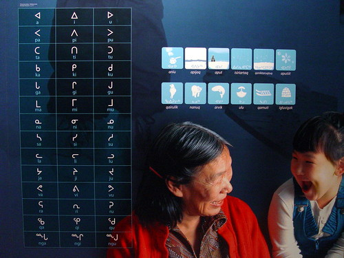 Inuit Language by pietroizzo, on Flickr