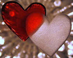 Hearts Of Glass.............. (ANDI2..) Tags: red macro love glass tag3 taggedout sepia wow hearts tag2 tag1 heart 100v10f amour