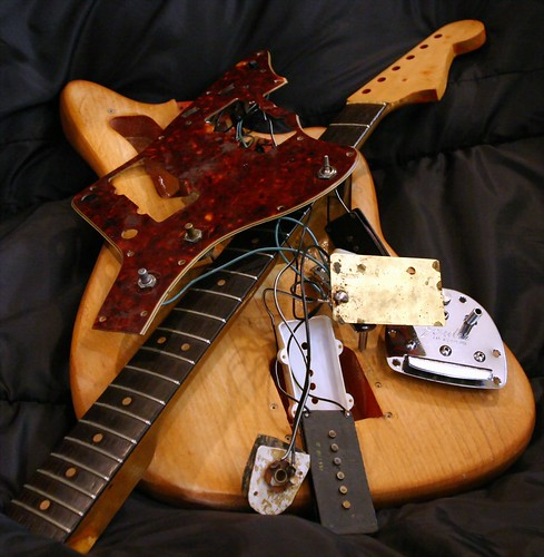 destroyed jazzmaster