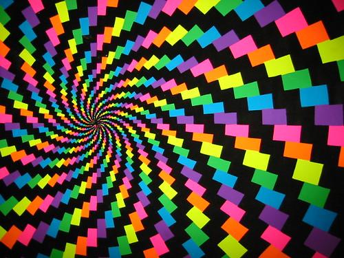 eye candy - spiral trippy blacklight poster - windows background version