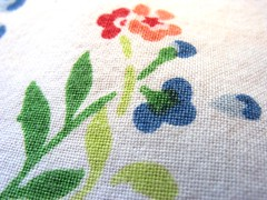 Tablecloth II (sbaracchina) Tags: flowers flower macro texture tag3 taggedout tag2 tag1 tablecloth