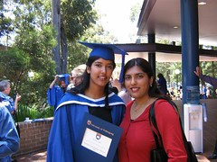 Fari and me at Fari's graduation (Princess_Fi) Tags: graduation