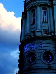 teatro (mappamundi) Tags: blue london club neon cross kings scala