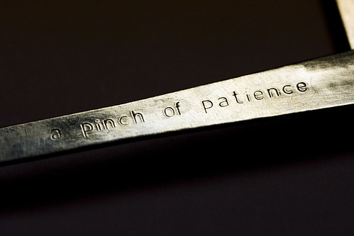 A Pinch of Patience by jbelluch