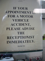 Make an Appointment for a Motor Vehicle Accident?