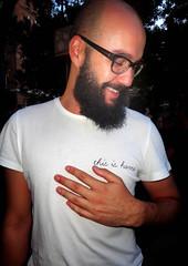 FIESTA INVESTIDURA MANUELA. LAS VISTILLAS - arte (Fotos de Camisetas de SANTI OCHOA) Tags: poesia