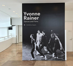 Museum, Yvonne Rainer at The Getty Center, Mural