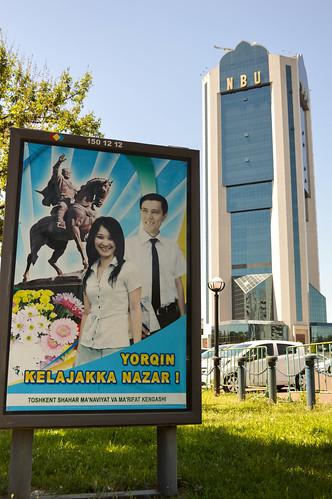 Uzbekistan rises