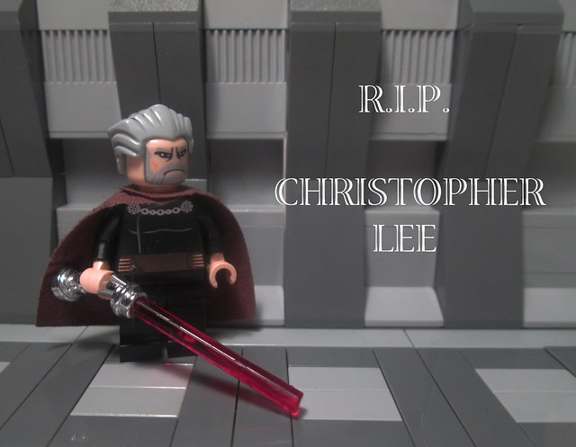 RIP Christoper Lee.