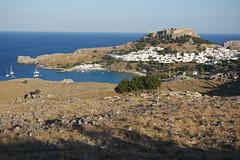 Lindos szak fell (sandorson) Tags: travel greece rhodes rodi rhodos rodas rodosz grgorszg  sandorson c