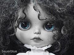 blue eyes #SqueakyMonkey #MimeDollz  #blythe #blythedoll #blueeyes (bauer blue) Tags: blueeyes blythe blythedoll squeakymonkey mimedollz