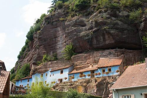 Maisons troglodytiques de Graufthal