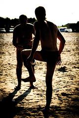 training (Marco Perrons) Tags: beach football soccer calcio gioco pallone fatica sudore allenamento