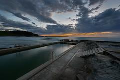 (mark nemeth) Tags: beach sunrise australia newsouthwales aus yamba oceanpool