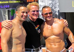 IMG_8995 (danimaniacs) Tags: shirtless man hot sexy guy smile losangeles muscle muscular gaypride westhollywood stud hunky csw