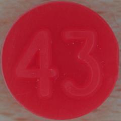 Bingo Number 43 (Leo Reynolds) Tags: xleol30x squaredcircle number numberbingo xsquarex bingo lotto loto houseyhousey housey housie housiehousie numberset 43 sqset119 40s canon eos 40d xx2015xx xxtensxx sqset