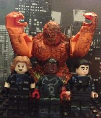 Fantastic Four! (NovacoreDeadpool157) Tags: four fantastic lego marvel fantastic4 humantorch mrfantastic