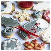 Christmas Collection 2016 (Daisy Loves Cake) Tags: cookies biscuits royalicing decorated icing christmas holly snowman masonjar balljar consoljar snowflake wreath