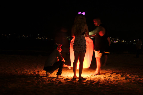 Patong Beach is celebrating New 2017 (Kathu,Thailand)