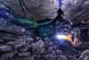 Back in to the Light (MSPhotography-Art) Tags: höhle albtrauf landschaft grabenstetten nature felsen germany schwäbischealb natur rocks cave alien eis swabianalb graben alb deutschland winter