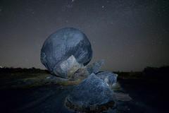 Old Friend Revisited (Steve Paxton WA) Tags: stars rocks longexposure nightphotos lightpainting orion