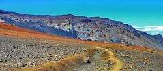 Maui Haleakala Trail (gerard eder) Tags: landscape paisajes nature natur volcano volcán vulkan haleakala world travel reise viajes america northamerica usa unitedstates hawaii maui trail outdoor