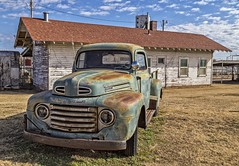 Abandoned Ford Pickup-A Classic (Kool Cats Photography over 8 Million Views) Tags: ford pickup classic oklahoma outdoor green abandoned truck