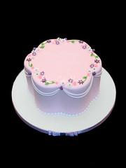 Petal Shape 18th Cake (Relznik) Tags: birthday cake 18 18th pretty girly girlie pink lilac purple flowers blossom swags patacakeparties