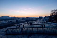 Morning@Hardbruecke: Sun still not visible (1/3) (jaeschol) Tags: europa hardbruecke kantonzürich kontinent kreis5 morgen morning schweiz stadtzürich switzerland zeit zürich ch