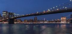 Brooklyn bridge - New York (valecomte20) Tags: nikon d5500 bridge pont architecture brooklynbridge sunset eau sea frontdemer arche