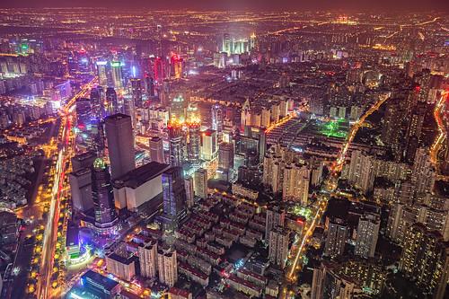 Night of Pudong, Shanghai