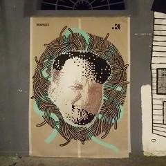 Pauletas Combo con Ironmould    Livepainting @Villaggio globale Roma, 2016 (.krayon) Tags: krayon pixel pixelart streetart poster posterart combo ironmould gojo villaggio globale roma livepainting 8bit portrait