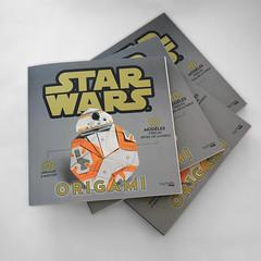 A long time ago in a Galaxy far, far away... (Karol Kafarski) Tags: star wars origami paper book kafarski karol force awakens