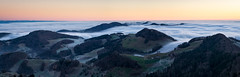 Nebelmeer (Martin Häfeli Photography) Tags: belchenfle baselland solothurn belchen bölchen switzerland nebelmeer nebel fog foggy misty early morning nikon d7200 hügel nebelwelle