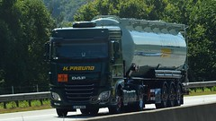 D - H.Freund >070< DAF XF 106 SC (BonsaiTruck) Tags: 070 spitzer daf xf 106 freund lkw lastwagen lastzug silozug truck trucks lorry lorries camion silo bulk citerne powdertank