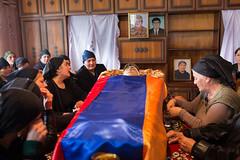 ARMAVIR-30 (RAFFI YOUREDJIAN PHOTOGRAPHY) Tags: soldier funeral beheaded yezidi armenia karabagh karabakh yazidi death fighting dead