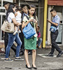 Smile Please (Beegee49) Tags: stare staring filipina street texting bacolod city philippines lady young