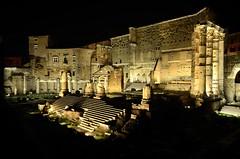 Fori di Augusto - Tempio di Marte - Rome (_Sunshine94_) Tags: roma rome colosseo viadelcorso piazzadispagna fori foriimperiali barcaccia altaredellapatria monumenti gustavoaceves shot photo photography italy italia